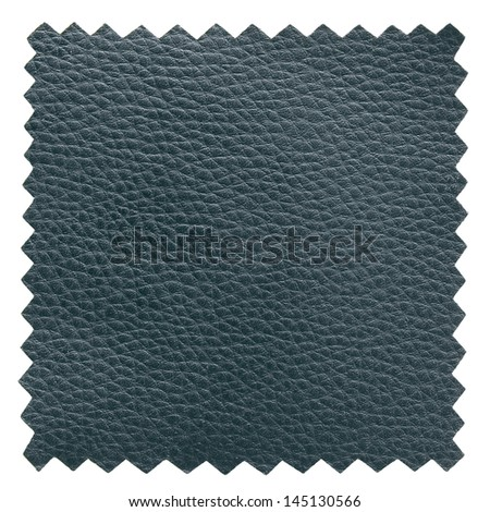 black leather samples texture - stock photo
