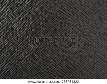 black leather texture as background - stock photo