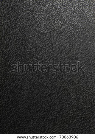 Black leather texture background See my portfolio for more - stock photo