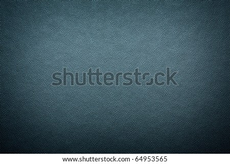 black leather texture close up - stock photo