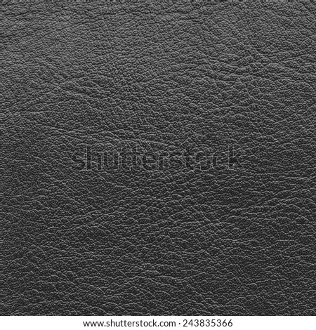 black leather texture closeup - stock photo