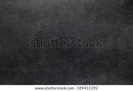Black leather texture for background. - stock photo