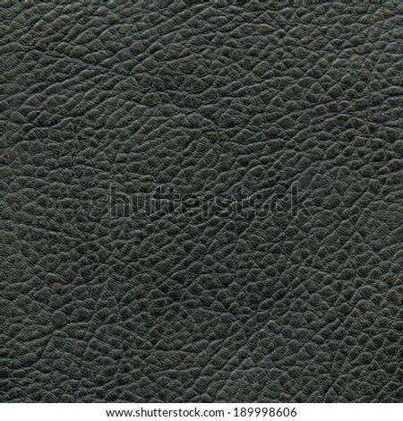 black leather texture. Useful as background - stock photo
