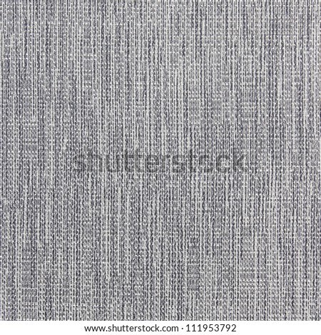 Black linen canvas texture - stock photo