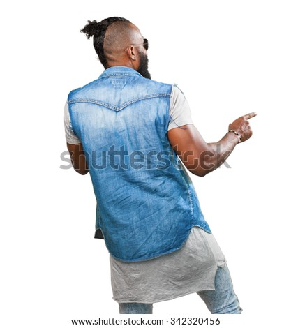 black man dancing