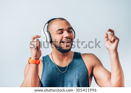 Young Cool Black Man Pointing Stock Photo 317408393 ...