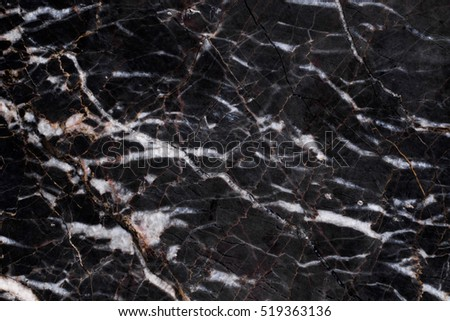Black marble , Abstract of natural background