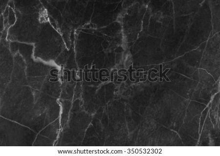 Black marble patterned (natural patterns) texture background, abstract marble texture background for design. - stock photo