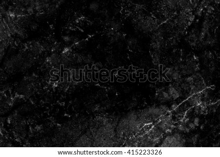 Black marble patterned texture background. marble of Thailand, abstract natural marble black and white for design. - stock photo