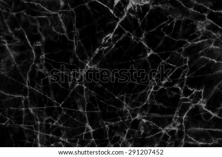 Black marble  texture background (natural patterns) for design.