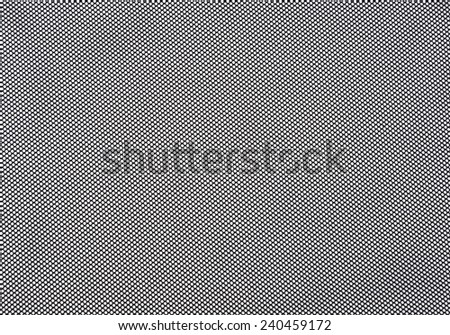 Black mesh fabric made with synhtetic yarn  - stock photo