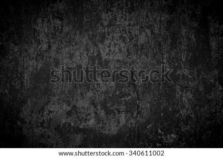 Black Metal, Black Background - stock photo