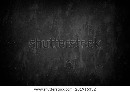 Black Metal Wall - stock photo