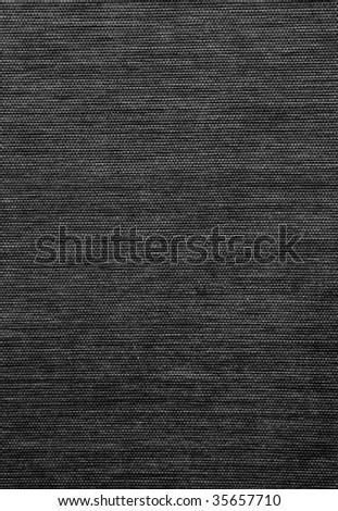 black natural bamboo background - stock photo
