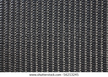 Black Nylon Woven Material Texture for Background