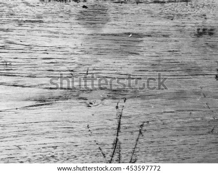 Black old wood texture