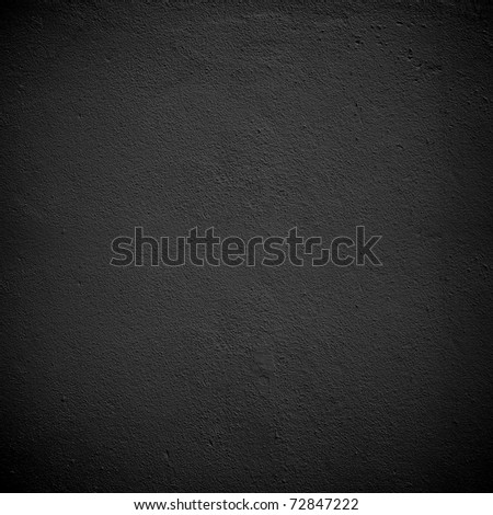 black paint wall