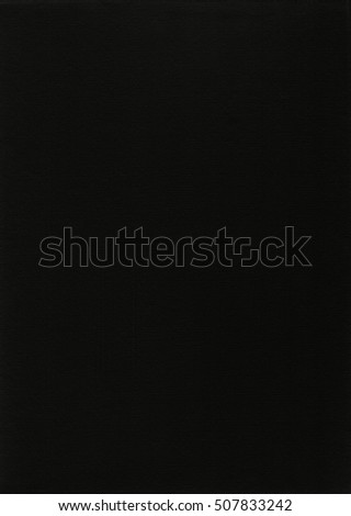 Black Paper halftone dots texture and background for drawing and painting design