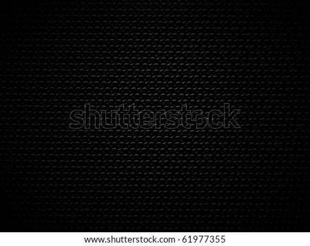black plastic with wave pattern and light effect - stock photo