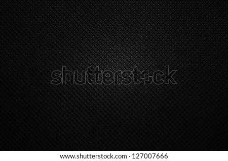 Black polipropylen background - stock photo