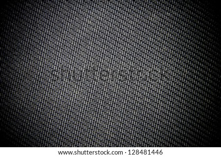 Black rubber pattern background. - stock photo