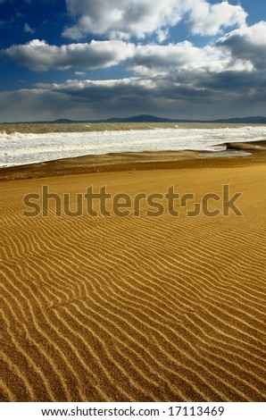 Black sea - stock photo