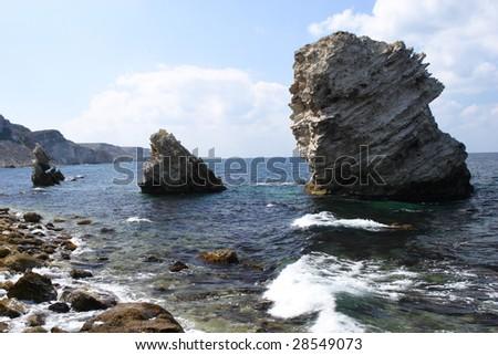 Black Sea - stock photo