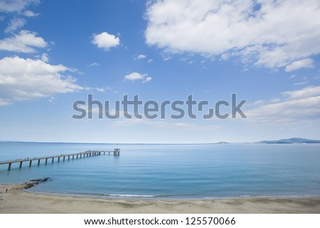Black Sea, Bulgaria - stock photo