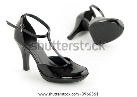 Black sexy shoes