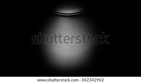 Black Skin, black leather on black background - stock photo