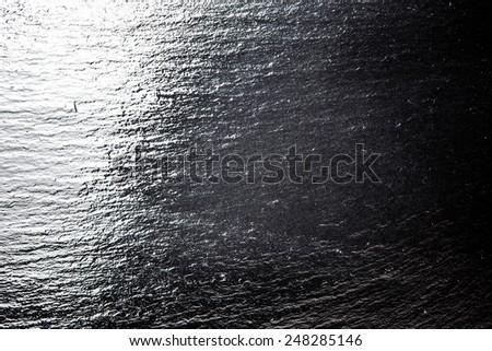 black slate back ground image - stock photo