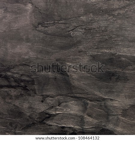 Black square marble texture background - stock photo