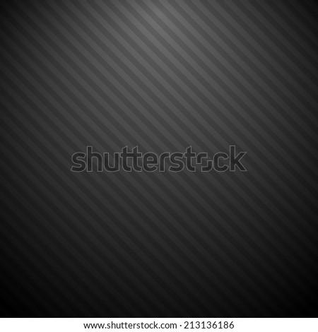 Black striped background - stock photo