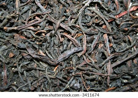 Black Tea - Texture - stock photo