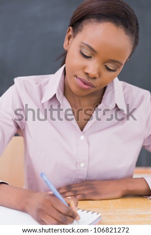 Teacher Writing Stock Images, Royalty-Free Images & Vectors ...