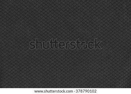 Black textile pattern texture for backdrop