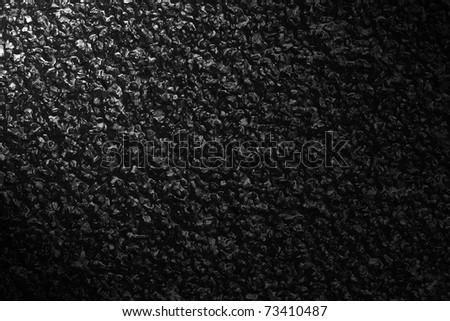 black texture,asphalt - stock photo