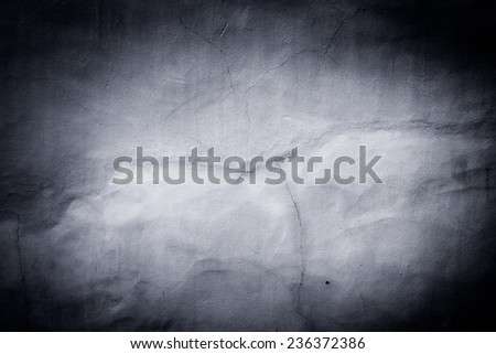 black texture can be used for background spotlight - stock photo