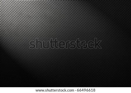 Black texture plastic - stock photo