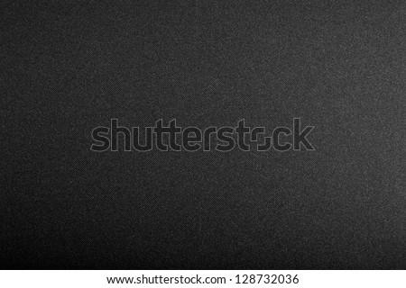 black textured background - stock photo