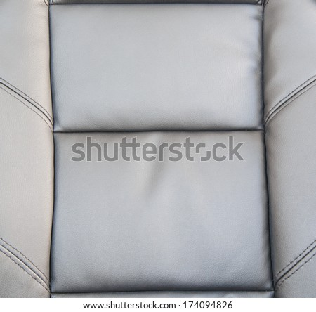 Black upholstery leather pattern background
