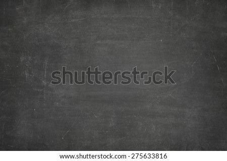 Black vintage full frame blank blackboard no frame - stock photo