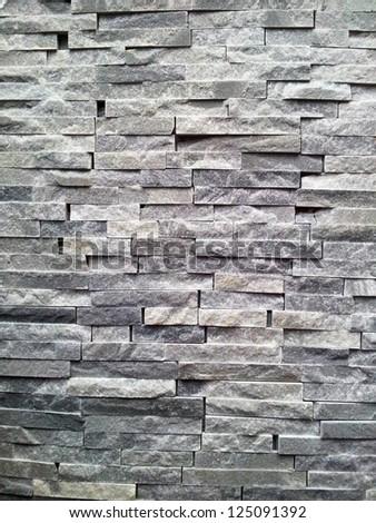 Black wall background - stock photo