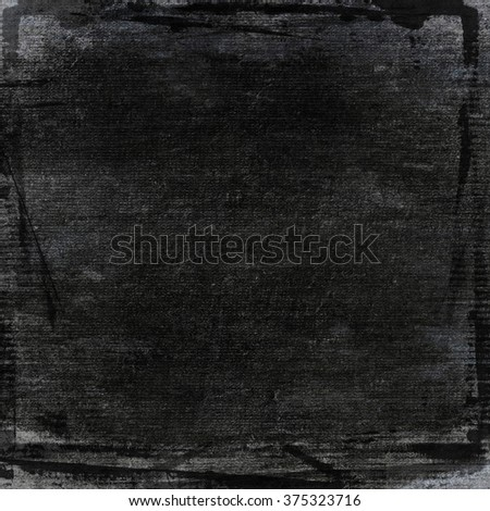 black wall paper texture background - stock photo