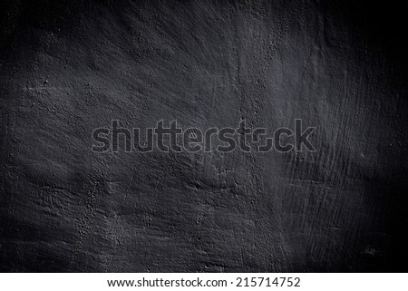 black wall scratched grungy - textured background - stock photo