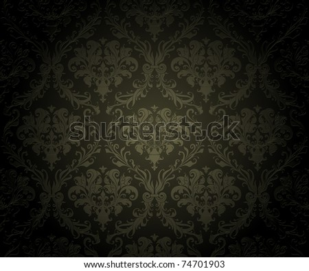 Black Wallpaper Background, bitmap copy - stock photo