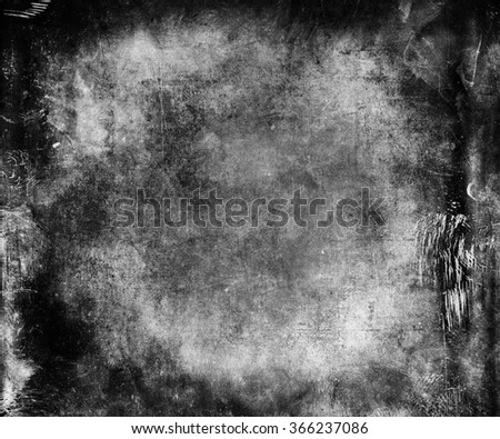 Black White Abstract Grunge Texture Background - stock photo