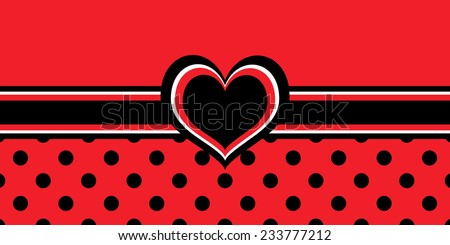 Black White And Red Background Images Black White And Red Heart