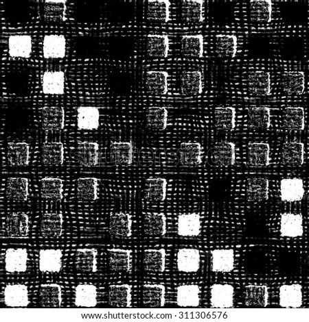 black-white background based on textile texture