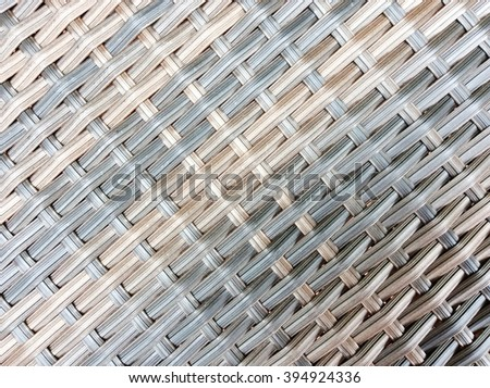 Black wicker texture as background - stock photo